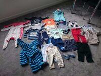 Boy bundle size 9-12 months