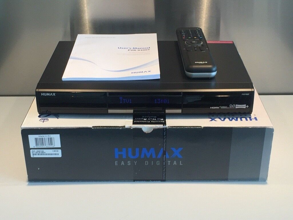 Humax PVR9300T 500gb Freeview Digital TV Recorder