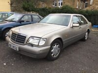 Mercedes S280 Auto 1995 Auto 38739 miles giveaway unwanted part exp