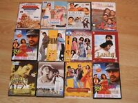 Bundle of 12 Indian Dvds 2 Are New