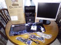 Desktop PC - Full Setup - Quad Core - Wifi + More