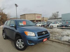 2012 Toyota RAV4 ONE OWNER-LOW KM'S