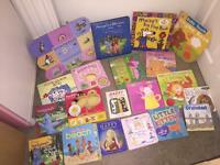 Job lot of 43 kids board books baby books