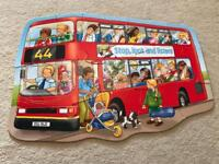 Orchard Toys: Big Bus floor puzzle