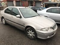 Rover 45 impression 1.4 petrol 51-plate! Short mot! Good runner! Px to clear £195!! £195!! £195!!
