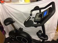JTX Cyclo-5 upright exercise bike. Gym standard, mains powered. Programmable.
