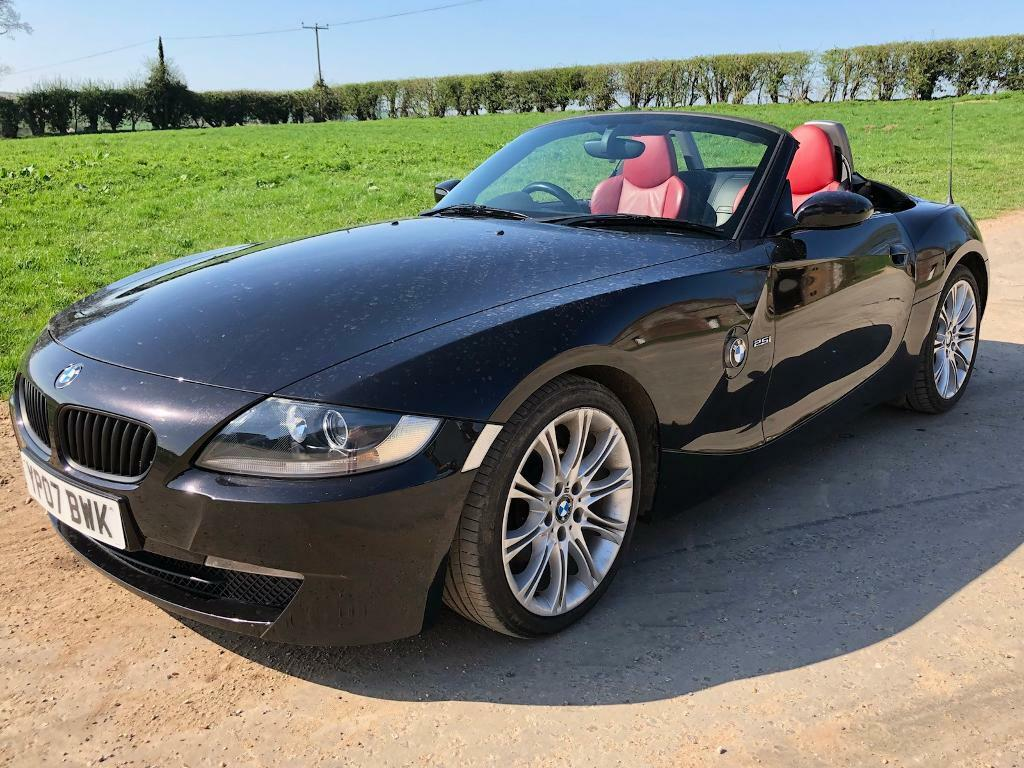 rare black bmw z4 sport convertible in kings lynn. Black Bedroom Furniture Sets. Home Design Ideas