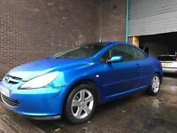 2004 PEUGEOT 307 CC CONVERTABLE FULL LEATHER MAY MOT