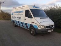 mercedes sprinter 313cdi spares or repairs £800