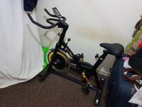 Bodymax B2 Indoor Studio Cycle Exercise Bike (Black) + Free LCD Monitor 250