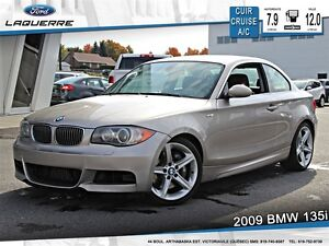 2009 BMW 135 *AUTOMATIQUE*CUIR*CRUISE*A/C 2 ZONES**