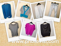 Womens size 10 casual summer clothes bundle - 7 items - tops, jeans, cardigans