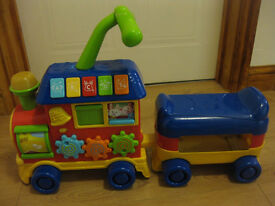 Walker Ride On Learning Train Age 12-36 mths IMMACULATE £50 Amazon MUSICAL TEACHING TOY NOW REDUCED