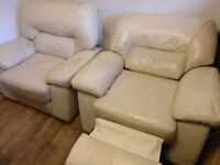 Electric Recliner Twin Armchairs (for collection)