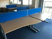Office study desks in perfect condition