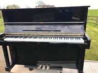 Samick 121 black upright piano|Belfast Pianos |FreeDelivery |