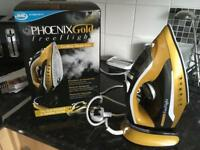 Phoenix gold free flight cordless iron