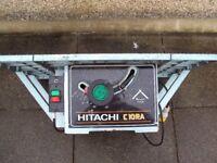 HITACHI TABLE SAW 110V £45