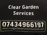 Clear garden services