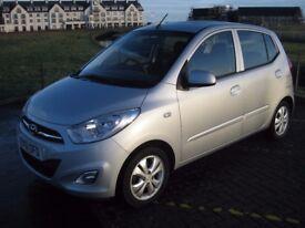 Hyundai i10 Active 5 door manual, low miles full history, £20 year road tax!