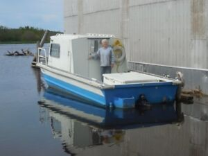 23' MonArk/SeaArk Little Giant work boat