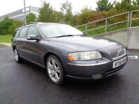2006 VOLVO V70 AUTOMATIC DIESEL, FSH , 2 KEY , LEATHER INTERIOR, SUN ROOF, FACELIFT