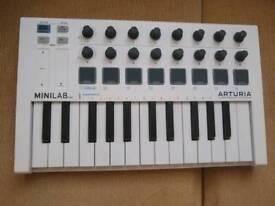 Arturia MiniLab MK2 MIDI Controller
