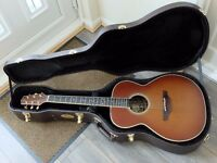 TAKAMINE TF430SS SINGER/SONGWRITER all solid cedar/ovangkol CoolTube electrics