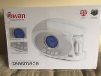 FOR SALE: Swan Teasmade STN200N. £63.00 NEW, STILL IN BOX. UNWANTED PRESENT