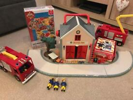 Fireman Sam Bundle - games, Fire Station Vehicles