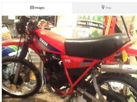 Will buy Yamaha dt 175 mx or 250 mx 400cc condition not that important please call