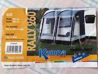 Kampa Rally 260 Caravan Awning