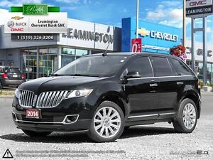 2014 Lincoln MKX This local one owner is a beauty.