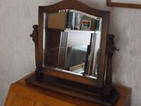 Ercol sideboard mirror / wallmount hall mirror