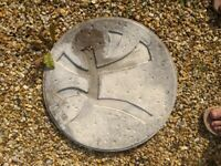 Oriental style stepping stone