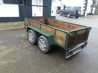 8FT X4FT TWIN AXLE TRAILER
