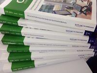 Kaplan Schweser 2015 CFA Level 1 Notes Package Quicksheet 6 Full Practice Exams