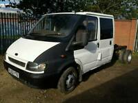 Ford transit chassis crew cab