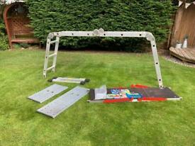 Multi-use platform ladder