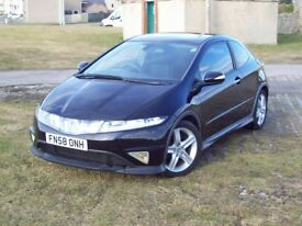 2008 (58) HONDA CIVIC TYPE-S GT ONLY 42000 MILES 2 LADY OWNERS EXCELLENT CONDITION