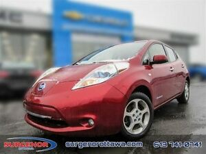2012 Nissan LEAF SV  - Navigation -  Bluetooth - $115.18 B/W - L