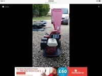 Petrol mini timberwolf chipper £300