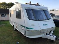 Caravan 4/5/6 berth Elddis Cyclone 1999 lovely condition *awning available Clevedon
