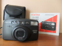 PENTAX ESPIO140 CAMERA USED ONLY ONCE