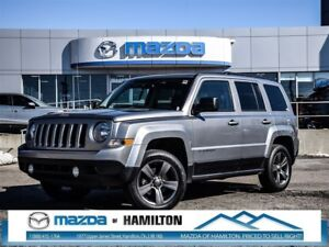 2015 Jeep Patriot High Altitude- LEATHER, SUNROOF, A/C!