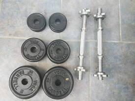 York cast iron weights