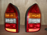 Vauxhall Car Front and Rear Lights.