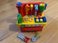 Children's toy tool station