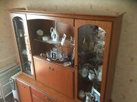 Sideboard/Dining room display cabinet