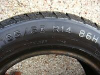 Tyre 195 60 R14 Really Good Tread